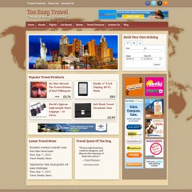 Website Portfolio - Too Easy Travel