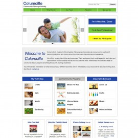 Website Portfolio - Columcille Centre